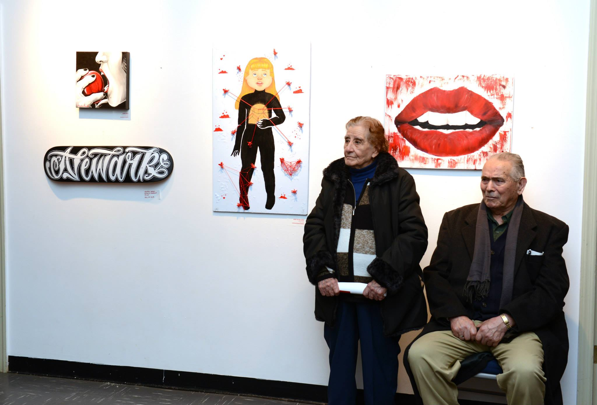 Annual Red Exhibit at the Perth Amboy Gallery Center for the Arts
