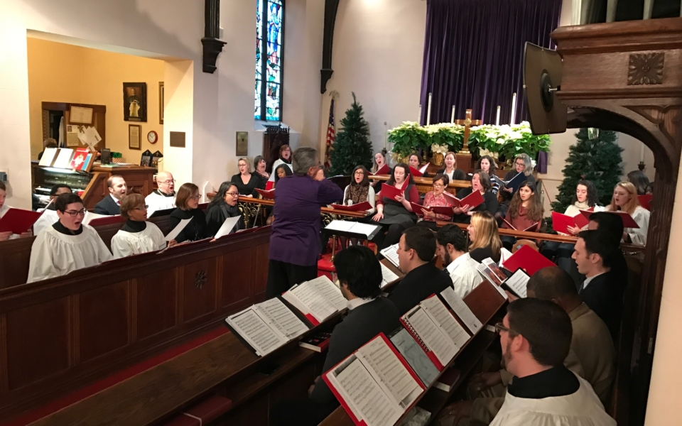 Lessons and Carols Concert St Peters Episcopal Church Perth Amboy Founded 1683