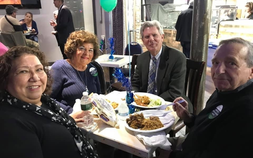Frank Pallone visiting with Perth Amboy residents