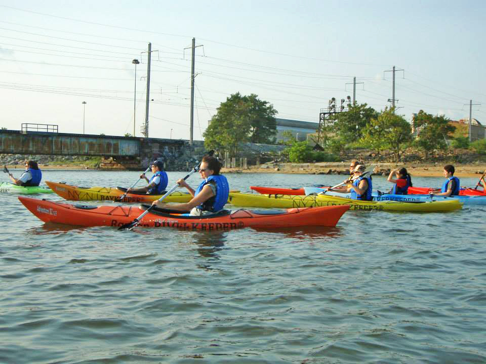 Kayaking trip lead by Bill Shultz the Raritan Riverkepper
