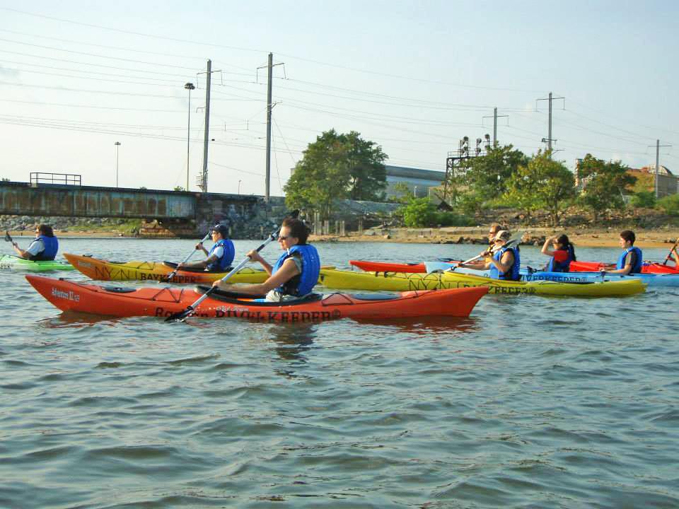 Kayaking trip lead by Bill Shultz the Raritan Riverkepper