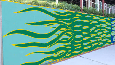 seagrass mural