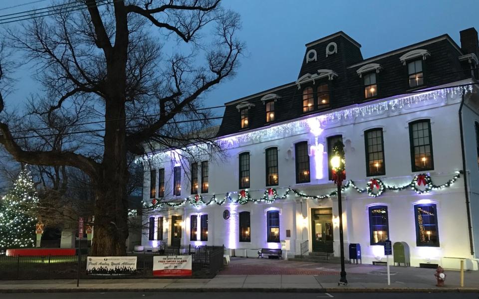 Perth Amboy City Hall at Christmas