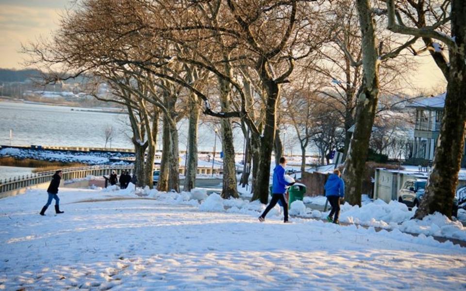 Perth Amboy Snow Day