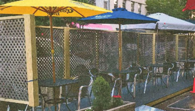 Outdoor dining in Perth Amboy