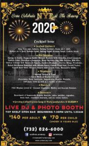 Perth Amboy New Years Eve 2020
