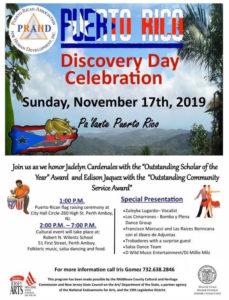 Puerto Rico Discovery Day Perth Amboy NJ