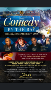 Comedy by the Bay at Jass Lounge hosted by Ron Snipes