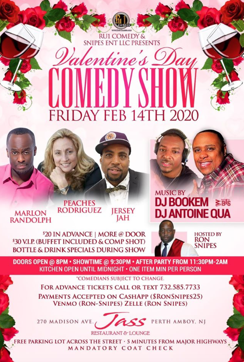 Valentines Day Comedy Show Perth Amboy NJ