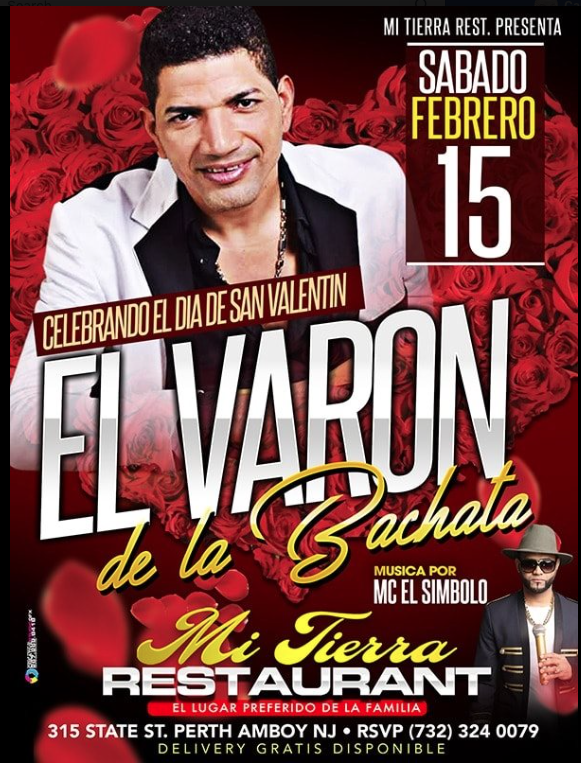 Bachata at Mi Tierra Valentine's Day Celebration