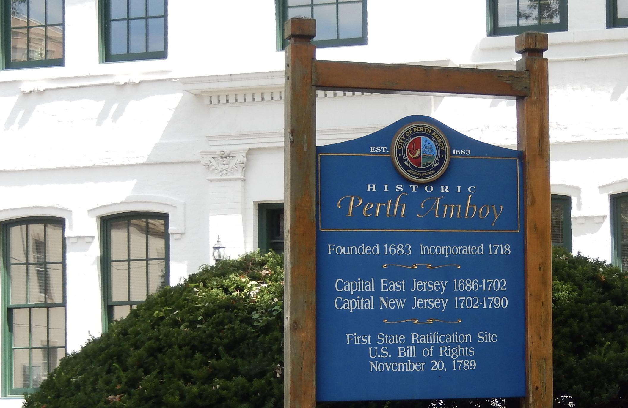 Historic Perth Amboy City Hall