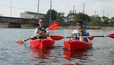 Kayaking in Perth Amboy